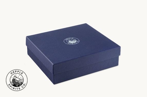 Hepple Spirits Gin gift box