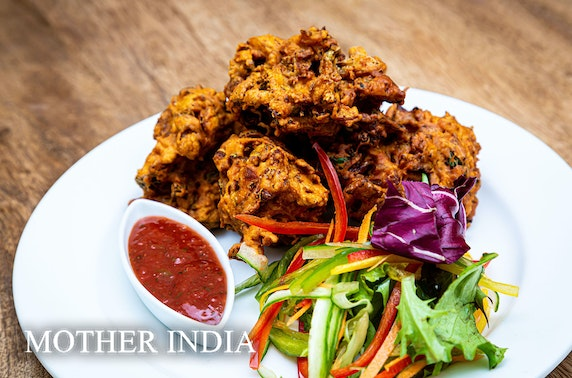 Mother India's Café lunch