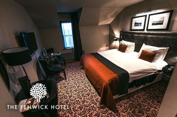 The Fenwick Hotel stay, nr Prestwick - from £55