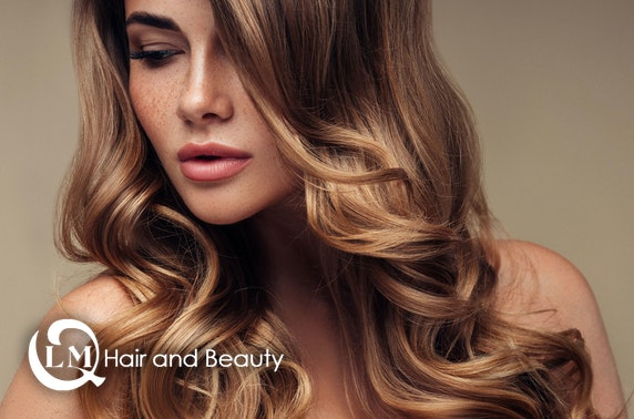 Cut and blow dry, LMQ Hair & Beauty