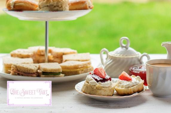 Wimbledon themed afternoon tea