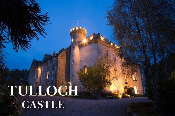 4* Highlands castle stay