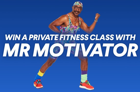 WIN a VIP experience with Sir Chris Hoy or Mr Motivator & support Social Bite