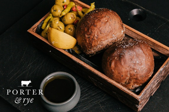 Porter & Rye at-home with Georgia Cécile