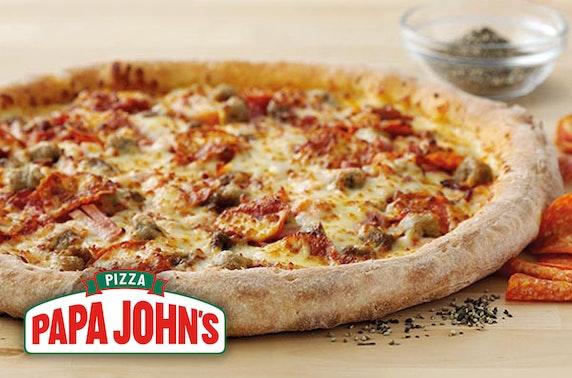 Papa John's pizza, Dundee - from £5.99
