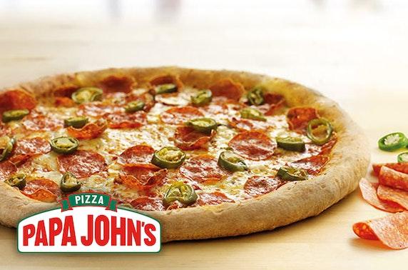 Papa John's pizza - from £5.99