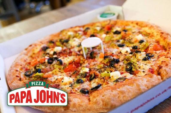 Papa John's pizza, Livingston - from £5.99