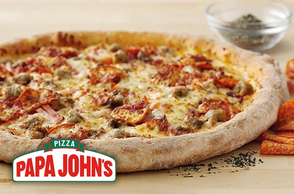 Papa John's pizza, Stirling - from £5.99