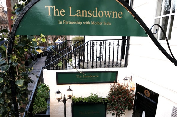 Lunch at The Lansdowne with Mother India