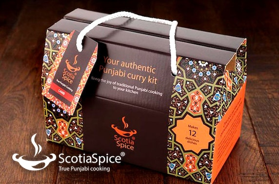 Authentic Punjabi curry kit; choose from chicken, lamb or vegetarian