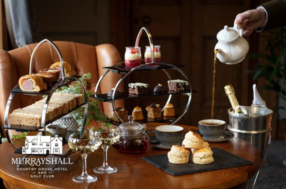 4* Murrayshall House Hotel afternoon tea