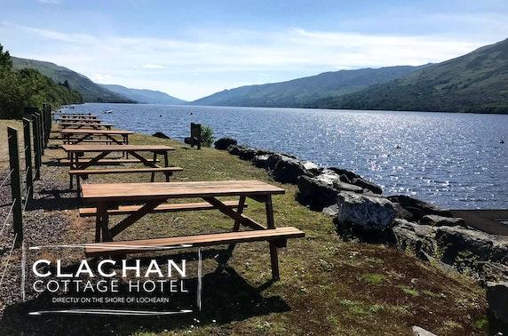 Loch Earn summer getaway