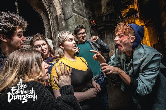 The Edinburgh Dungeon tickets