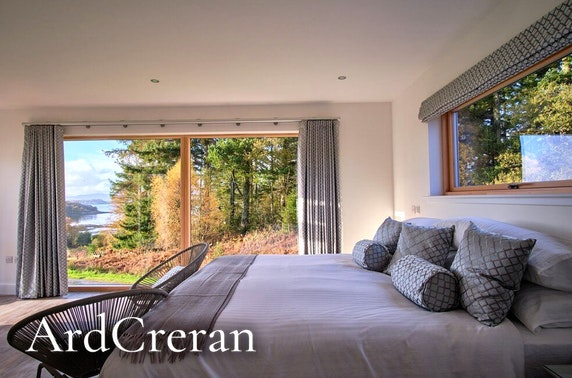 Self-catering hot tub stay, near Oban