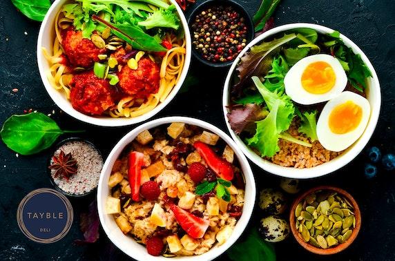 Tayble Deli street food takeaway