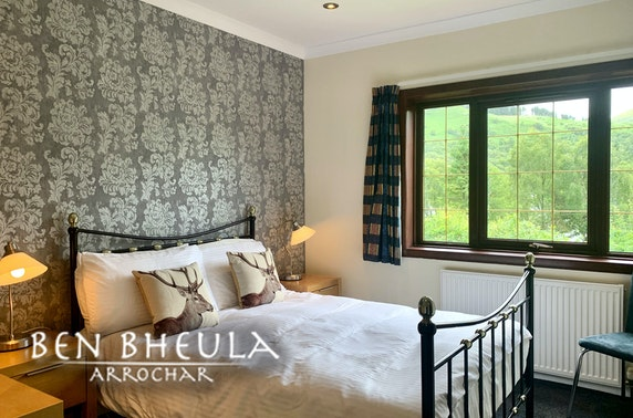 Loch Long self-catering group stay