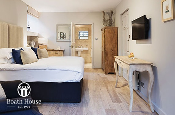 5* Boath House Hotel stay, Nairn