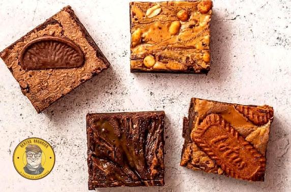 Luxury handmade brownies delivered