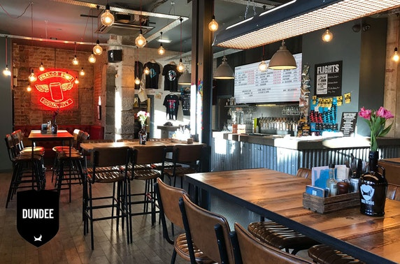 BrewDog Dundee pizzas & drinks