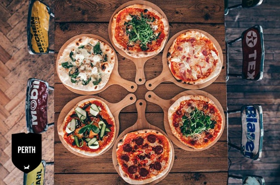 BrewDog Perth pizzas & drinks