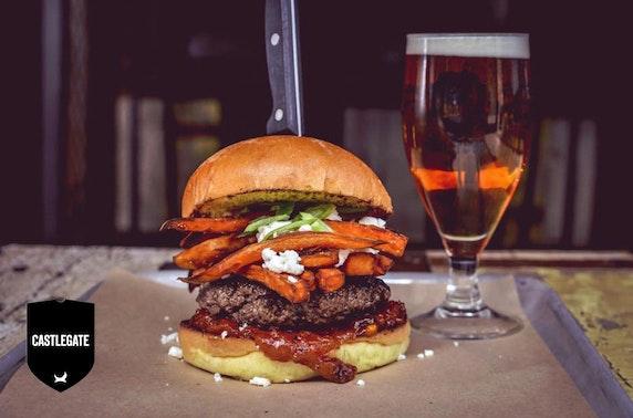 BrewDog Castlegate burgers & beer