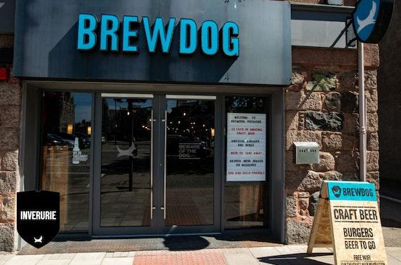 Burgers & beer at BrewDog, Inverurie