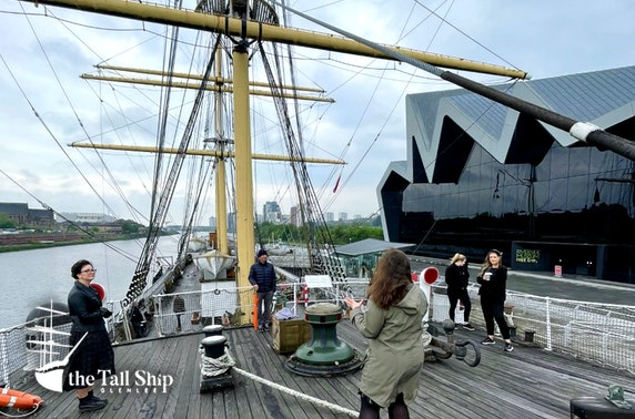 The Tall Ship Glenlee tour & afternoon tea