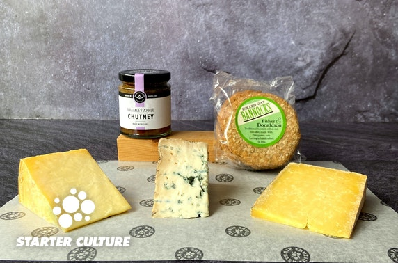 Scottish cheese hampers from Starter Culture