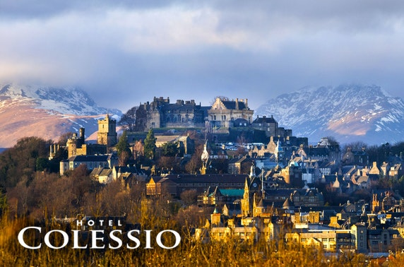 4* Hotel Colessio stay, Stirling