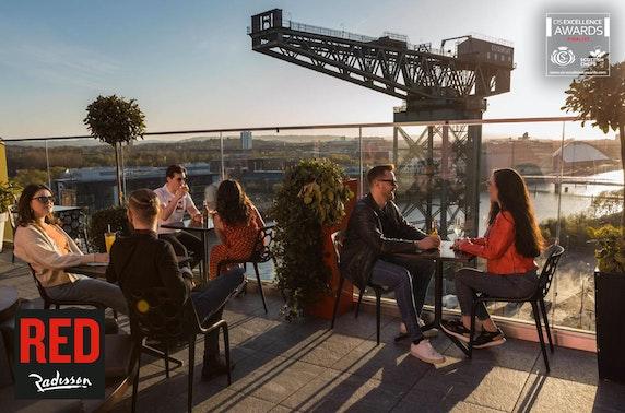 Radisson RED sky bar dining