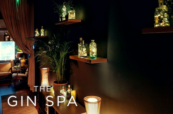 Couple's spa day at The Gin Spa