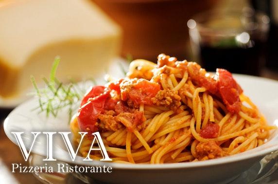 Viva Ristorante pizza or pasta