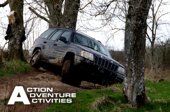 4x4 off-road driving, Stirlingshire