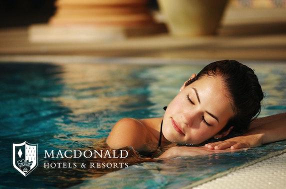 Rasul spa day, Macdonald Inchyra