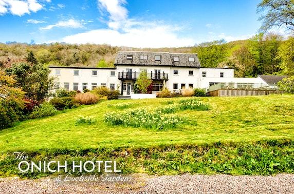 The Onich Hotel winter break, nr Glencoe