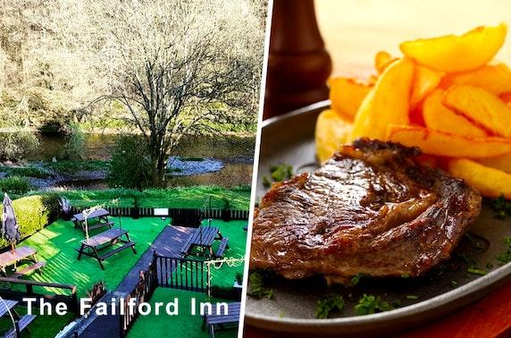 Dining at The Failford Inn, Mauchline