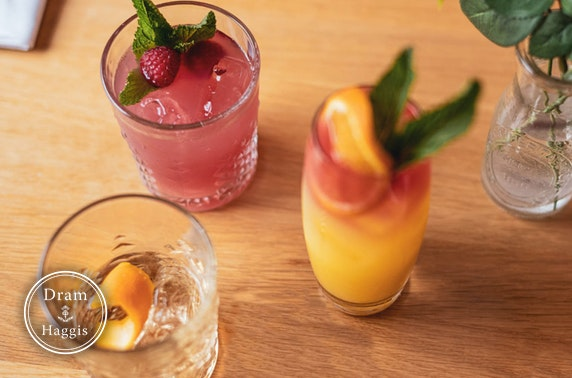 Cocktail masterclass at Dram & Haggis