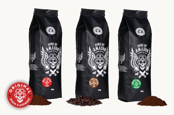 2 x 500g bag of coffee