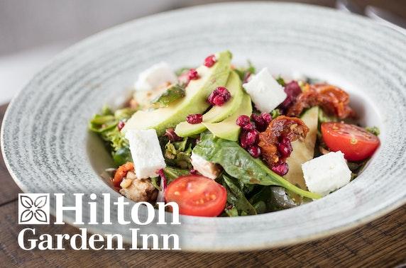 Hilton Garden Inn winter getaway, Glasgow