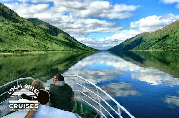 Loch Shiel guided cruise, Glenfinnan