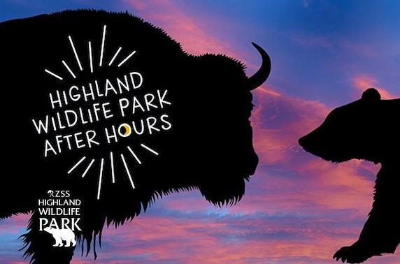 Highland Wildlife Park After Hours