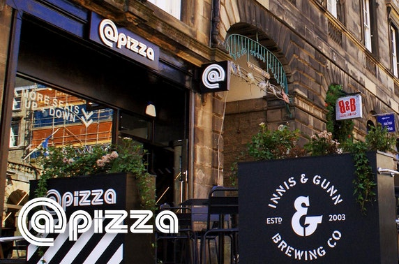 Brand-new @Pizza, Royal Mile