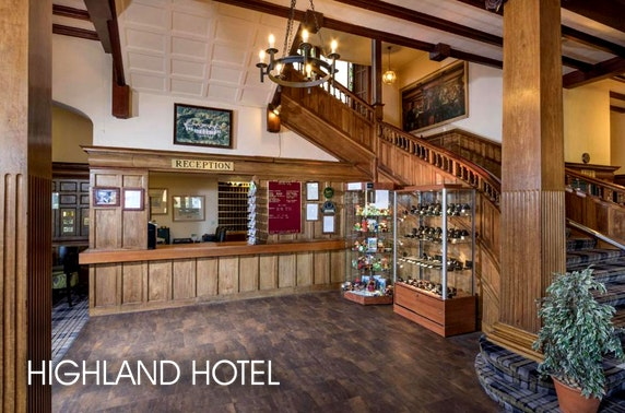 Highland Hotel break, Strathpeffer