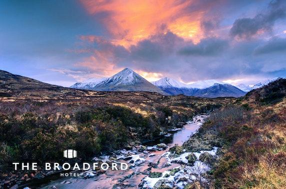 4* Broadford Bay stay, Isle of Skye