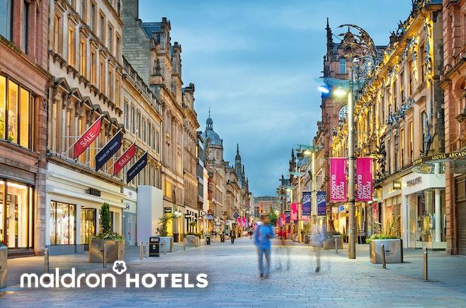 Brand-new Maldron Hotel, Glasgow