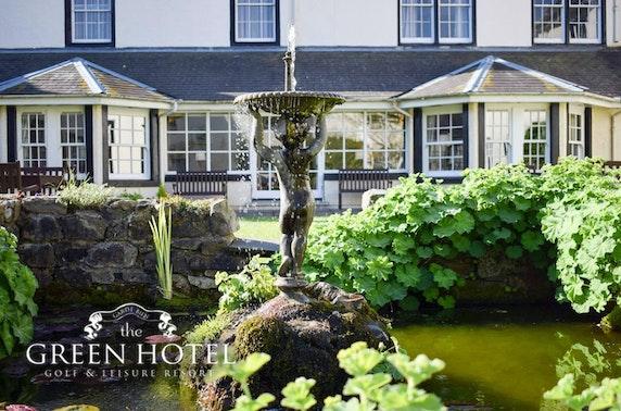 The Green Hotel Golf Resort stay