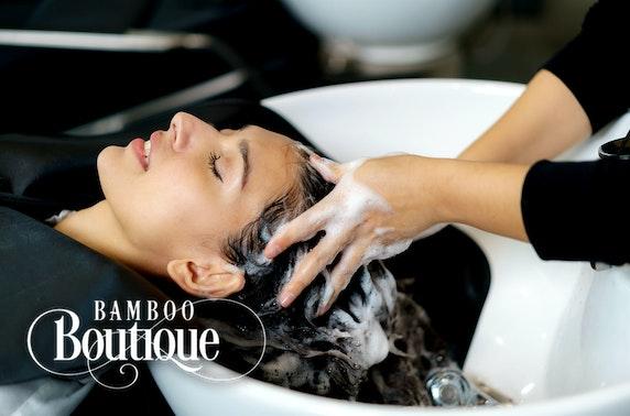 Bamboo Boutique hair treatments, Stockbridge