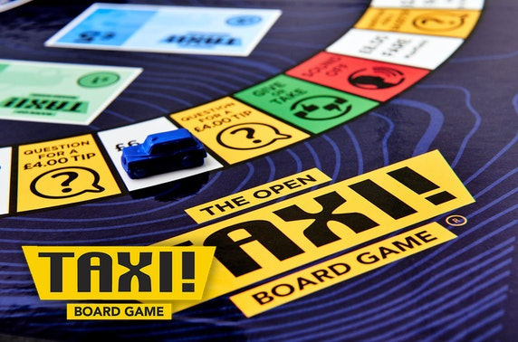 Taxi! Board Game The Open Golf edition