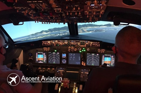 Flight simulator experience, Paisley