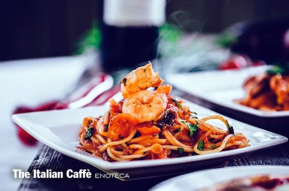 The Italian Caffè Enoteca dining